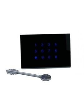 Tastiera KNX Controllo Accessi DOORY Orizzontale Nera BX-R12OB