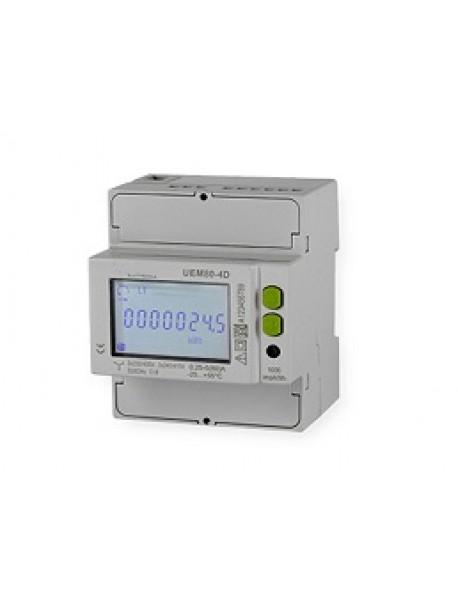 Contatore di energia MID 80A Trifase con porta 485 UEM80-4D-R