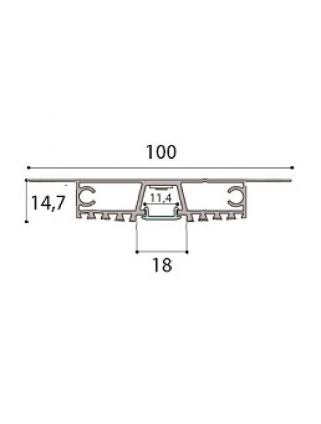 Profilo Mono lastra PR-INC17-ML-OP