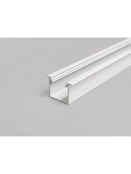 LINEA-IN20 Profilo Anodizzato Bianco 2 Metri