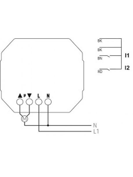 Attuatore Tapparella RF da Incasso JU 1 RF KNX (4941650)