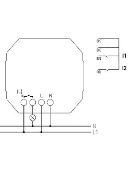 Attuatore Uscita Binaria RF da Incasso SU 1 RF KNX (4941620)