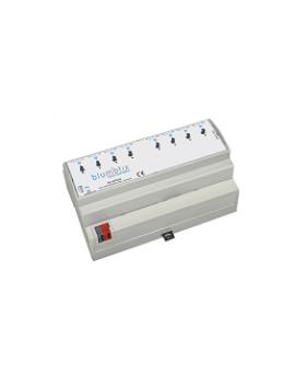 Attuatore di uscita KNX 8 uscite binarie BX-ACT08