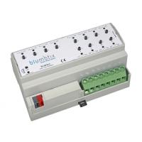 Attuatore di uscita KNX 12 uscite binarie BX-ACT12
