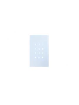 Tastiera KNX Controllo Accessi DOORY Verticale Bianca BX-R12VW