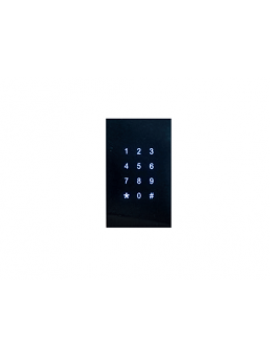 Tastiera KNX Controllo Accessi DOORY Verticale Nera BX-R12VB