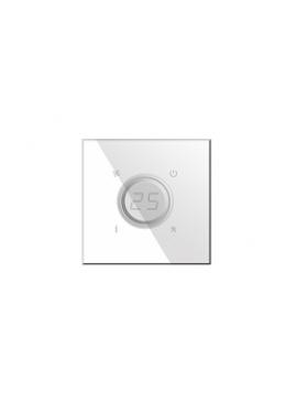 Termostato KNX Bianco con sonda di umidità BX-Q07W