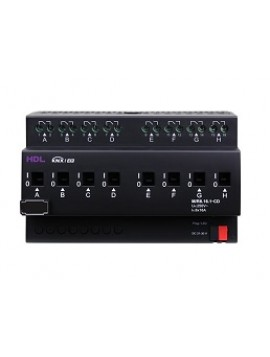 Attuatore Uscita KNX con rilevazione corrente HDL-M/R8.16.1-CD