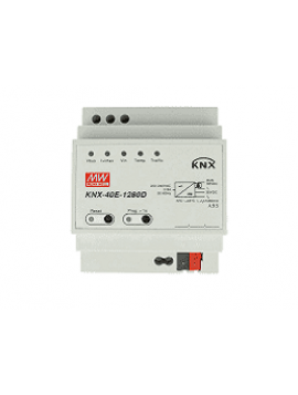 Alimentatore con diagnostica KNX Meanwell KNX-40E-1280D