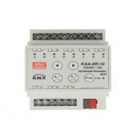 Attuatore Uscita Multifunzione KNX KAA-8R-10