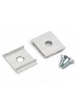 X Gancio di sostegno alluminio (2pz)