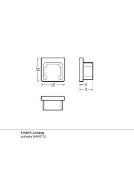 SMART10 Chiusura anodizzata (2pz)