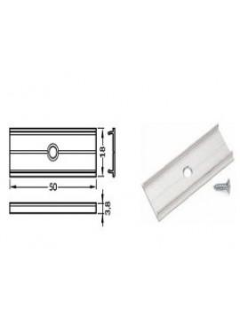 X Connessione lineare alluminio