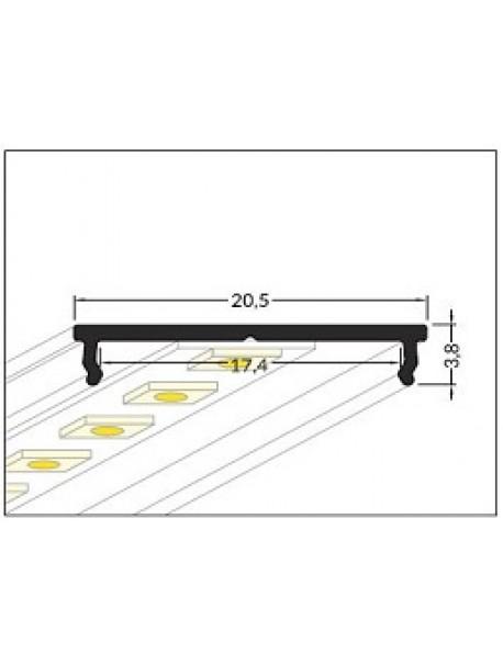 FIX16 Profilo Anodizzato 2 Metri