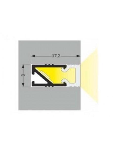 HI8 Profilo Anodizzato 2 Metri