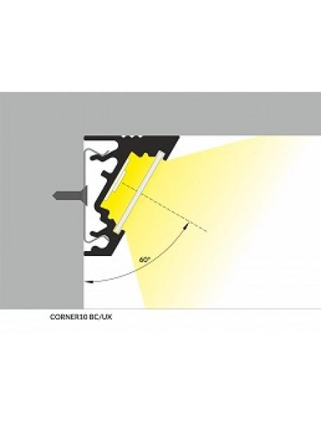 CORNER10 Profilo Anodizzato 2 Metri