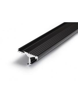 STEP10 Profilo anodizzato nero