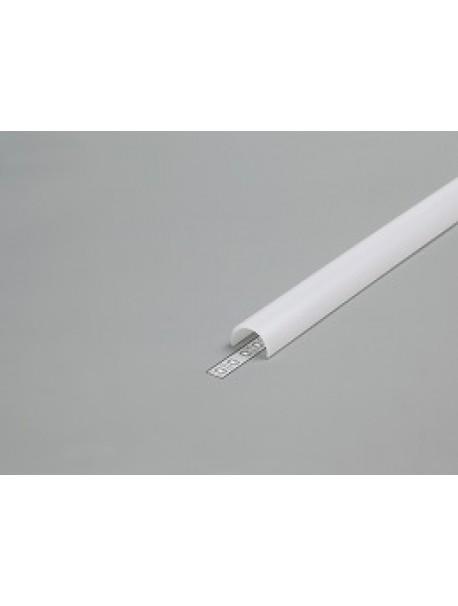 Diffusore Tipo D bianco 2 metri