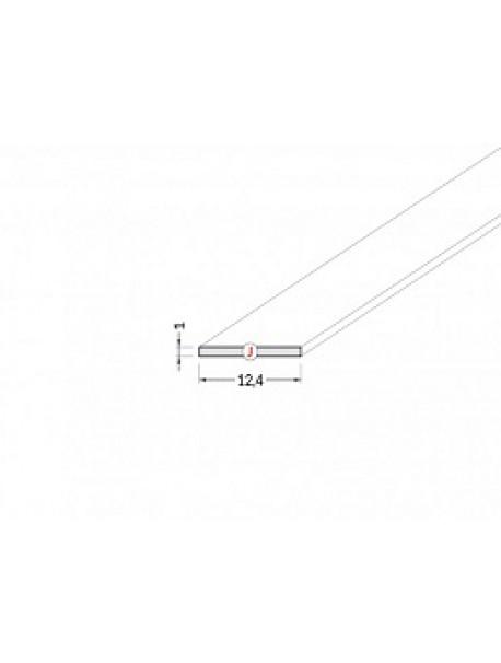 Diffusore Tipo J prismatizzato 2 metri