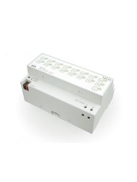 Attuatore di uscita NAOS KNX 16x binario - 8x Motorizzazioni 10A